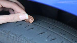 mesurer l'usure d'un pneu